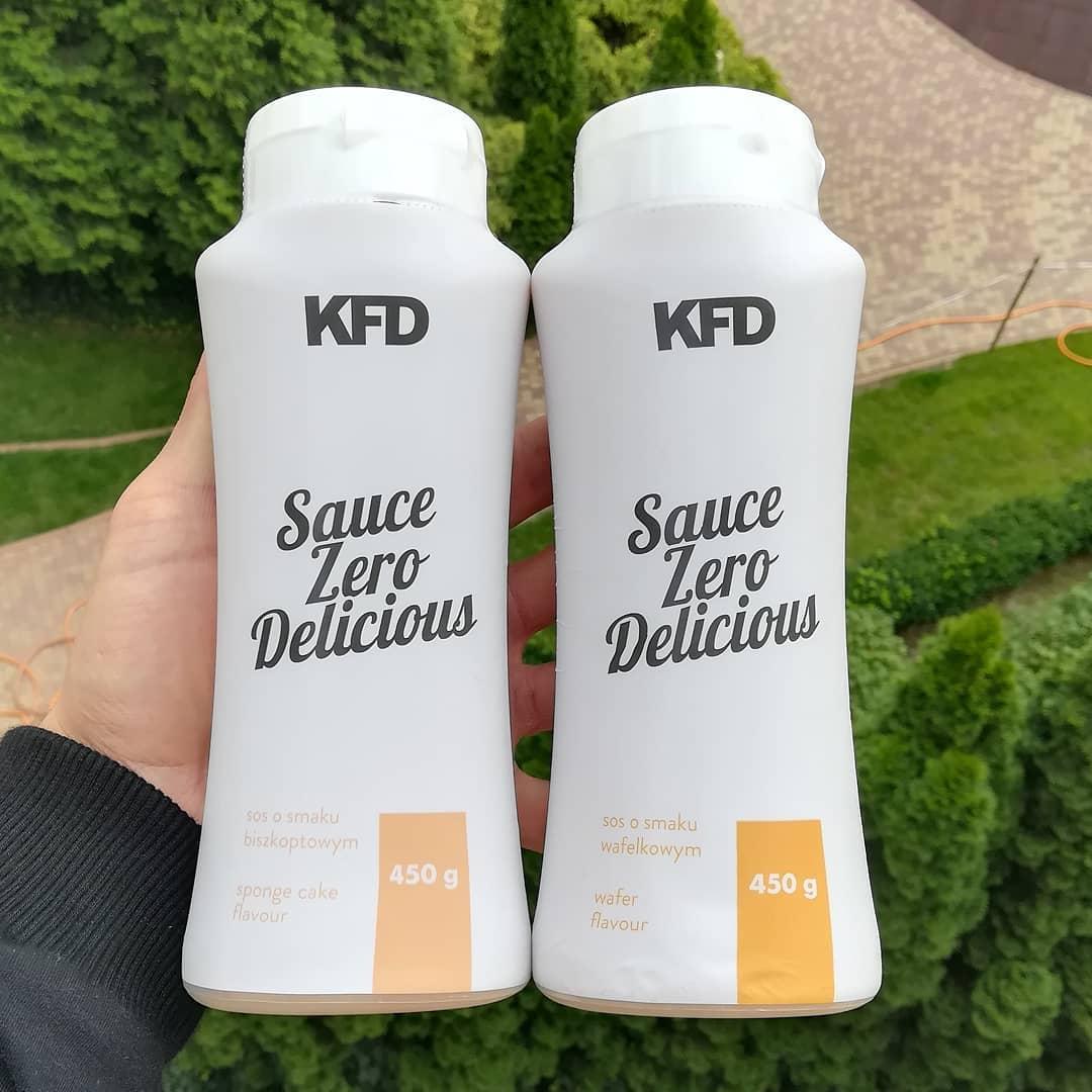 KFD Nutrition Sauce Zero – biszkoptowy i wafelkowy