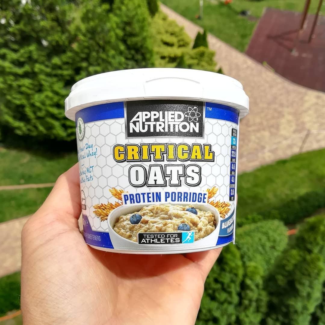 Applied Nutrition Critical Oats – jagodowa owsianka proteinowa