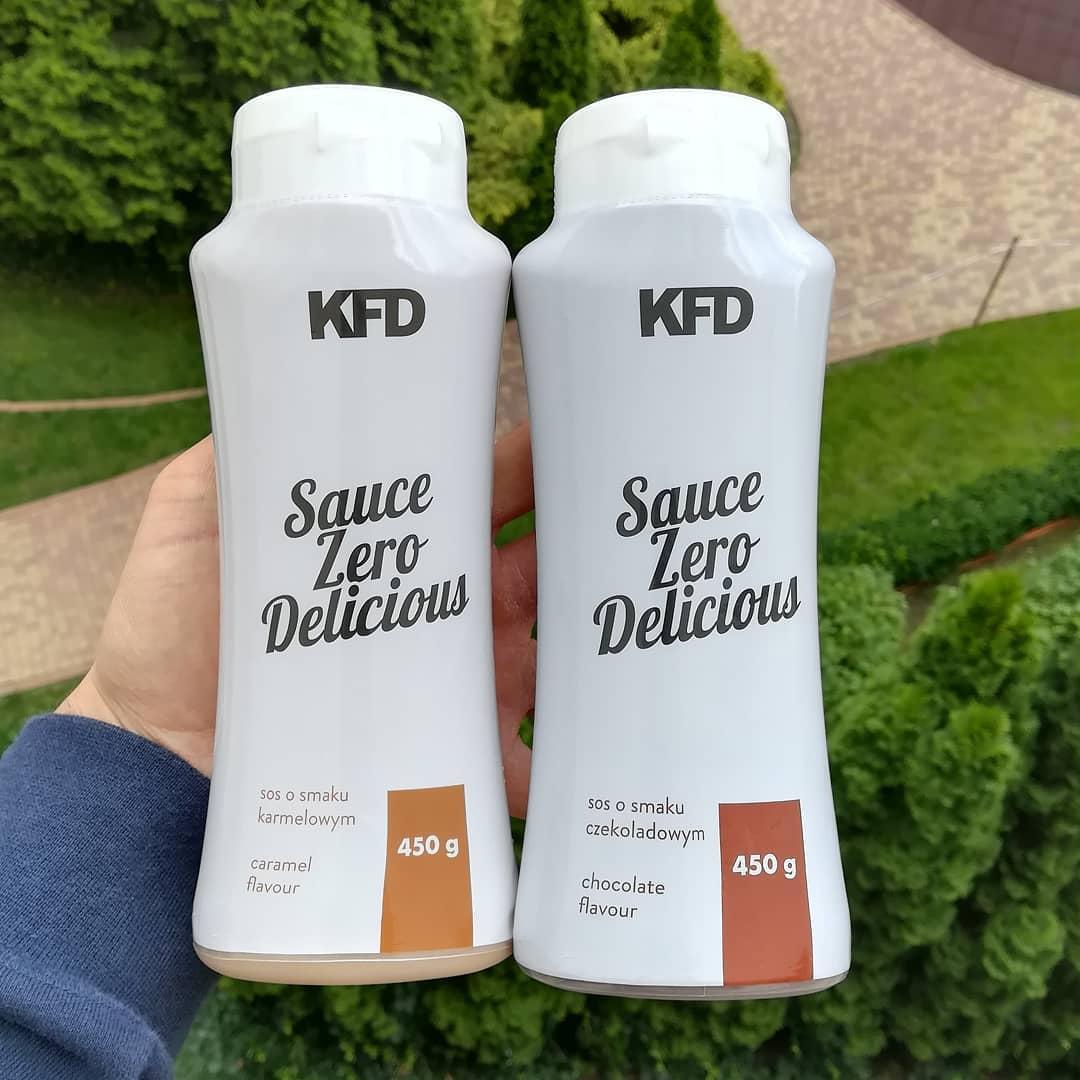 KFD Nutrition Sauce Zero – czekolada i karmel!
