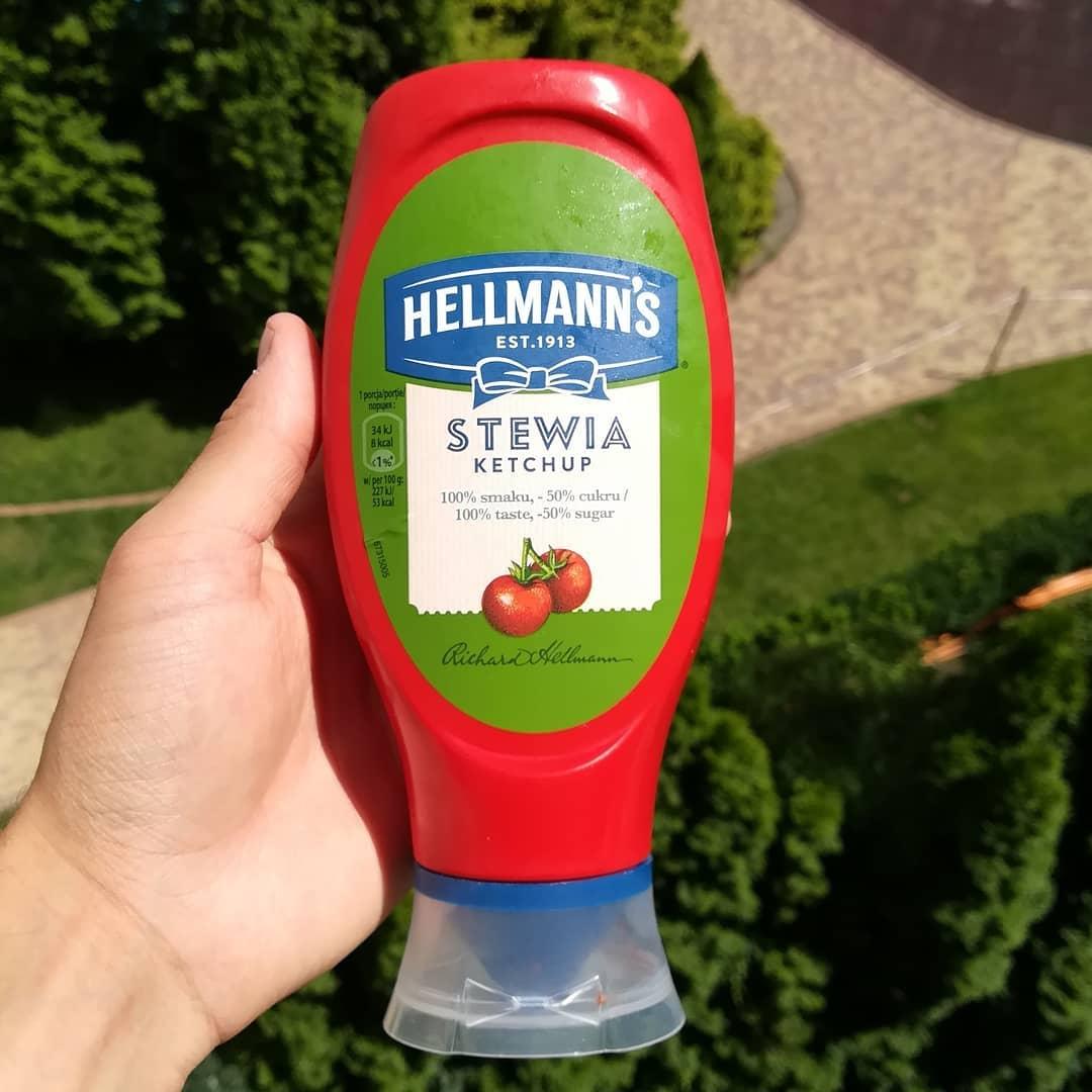 Hellmann's Ketchup Bez Cukru – słodzony stewią!