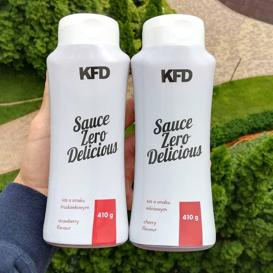 KFD Nutrition Sauce Zero – truskawka i wiśnia