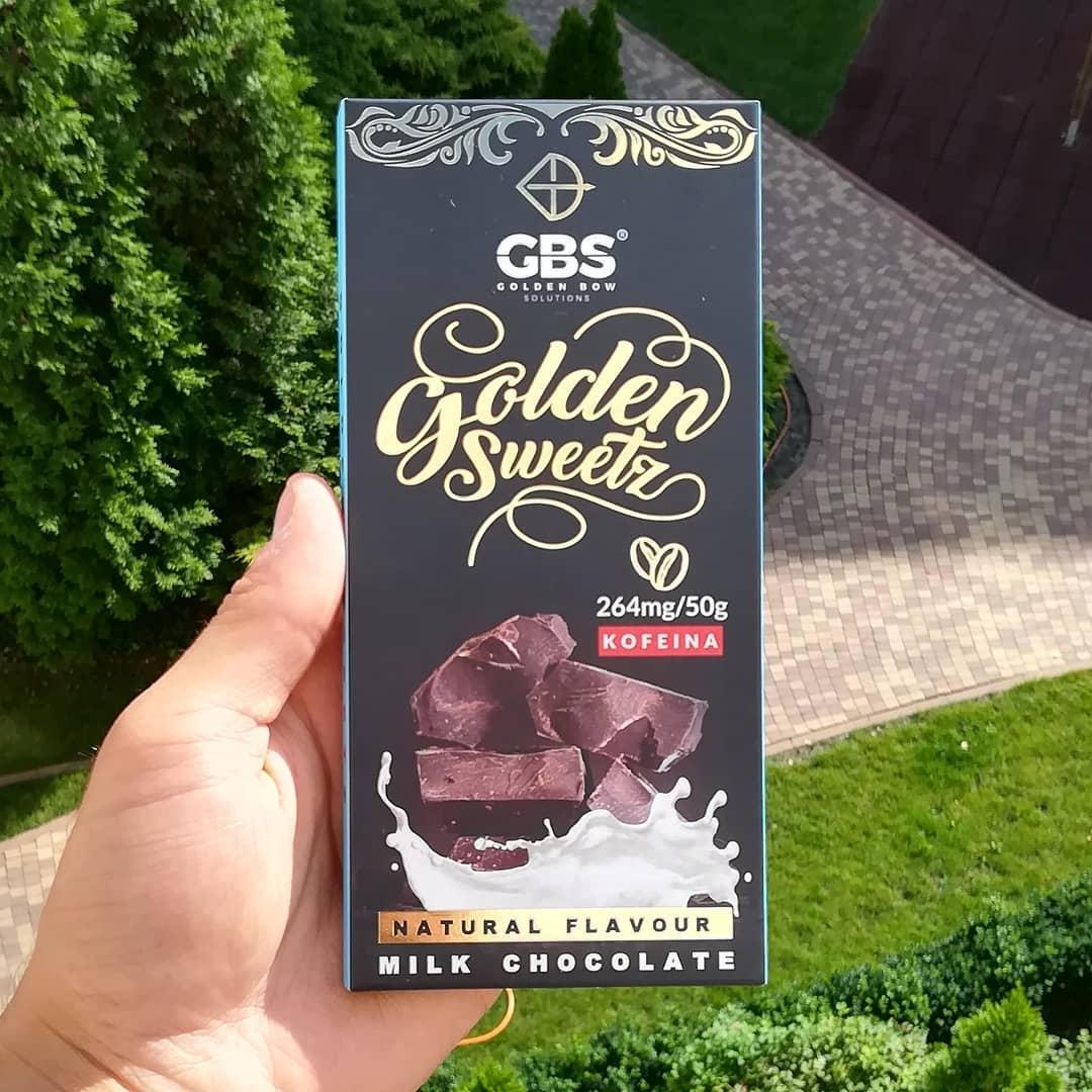 Golden Bow Solutions Milk Chocolate – recenzja fit czekolady!