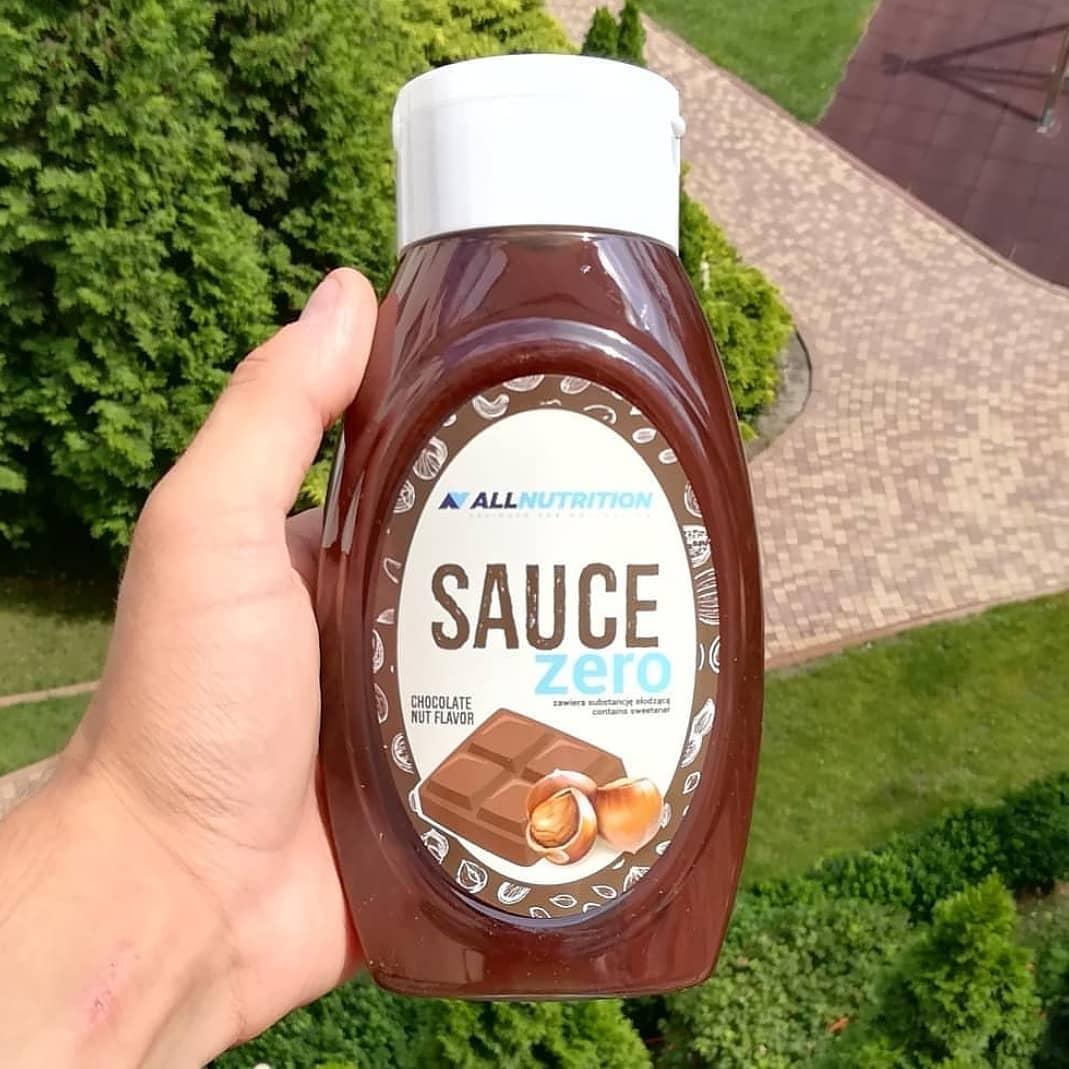 All Nutrition Sauce Zero Chocolate Nut – moja recenzja!