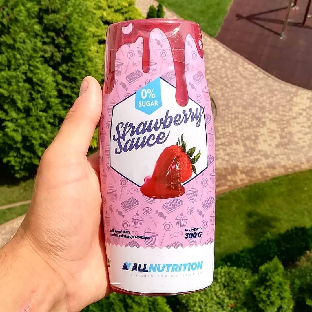 All Nutrition Sauce Zero Sweet Strawberry – próbuję i testuję