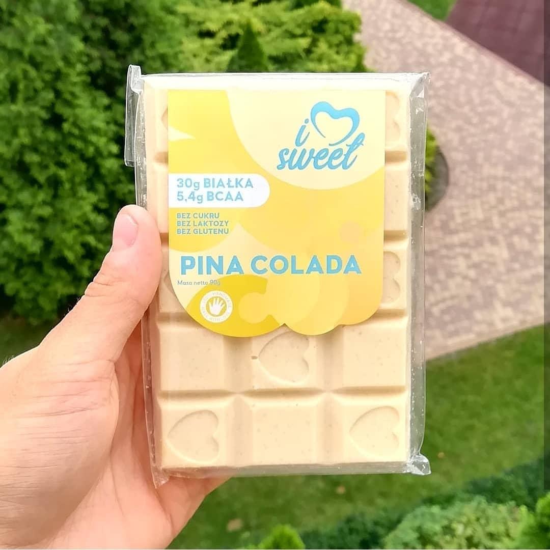 ILOVESWEET Czekolada Pina Colada – smak wakacji!