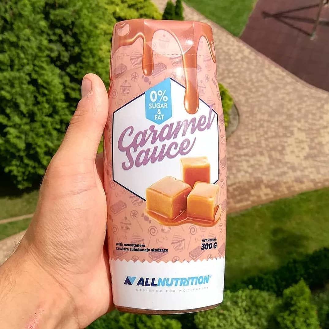 All Nutriiton Sauce Zero Sweet Caramel – najlepszy syrop od SFD?