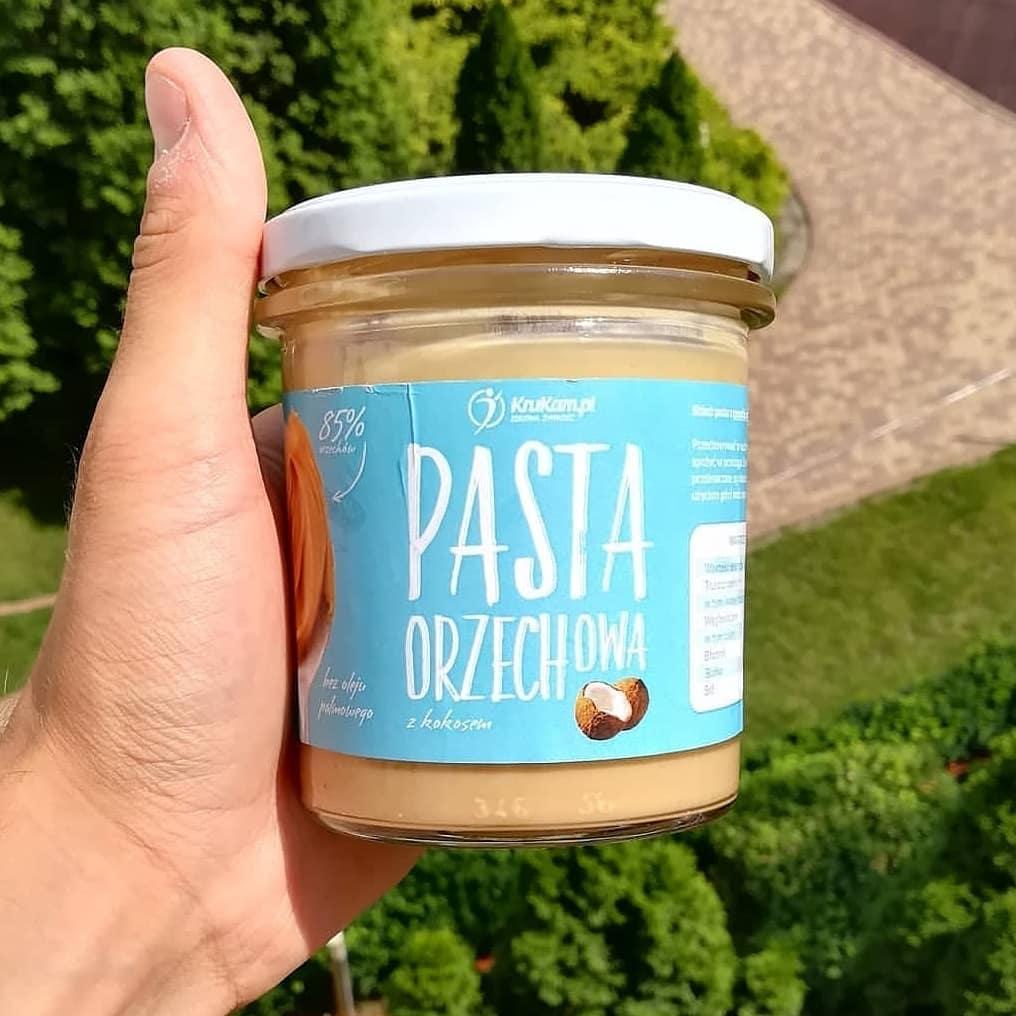 Krukam Pasta Orzechowa z Kokosem – orzechowa mieszanka!