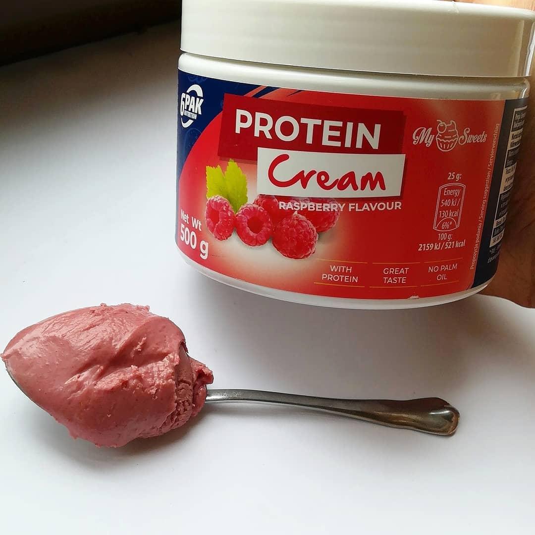 6PAK Nutrition Protein Cream Raspberry – malinowy krem proteinowy!