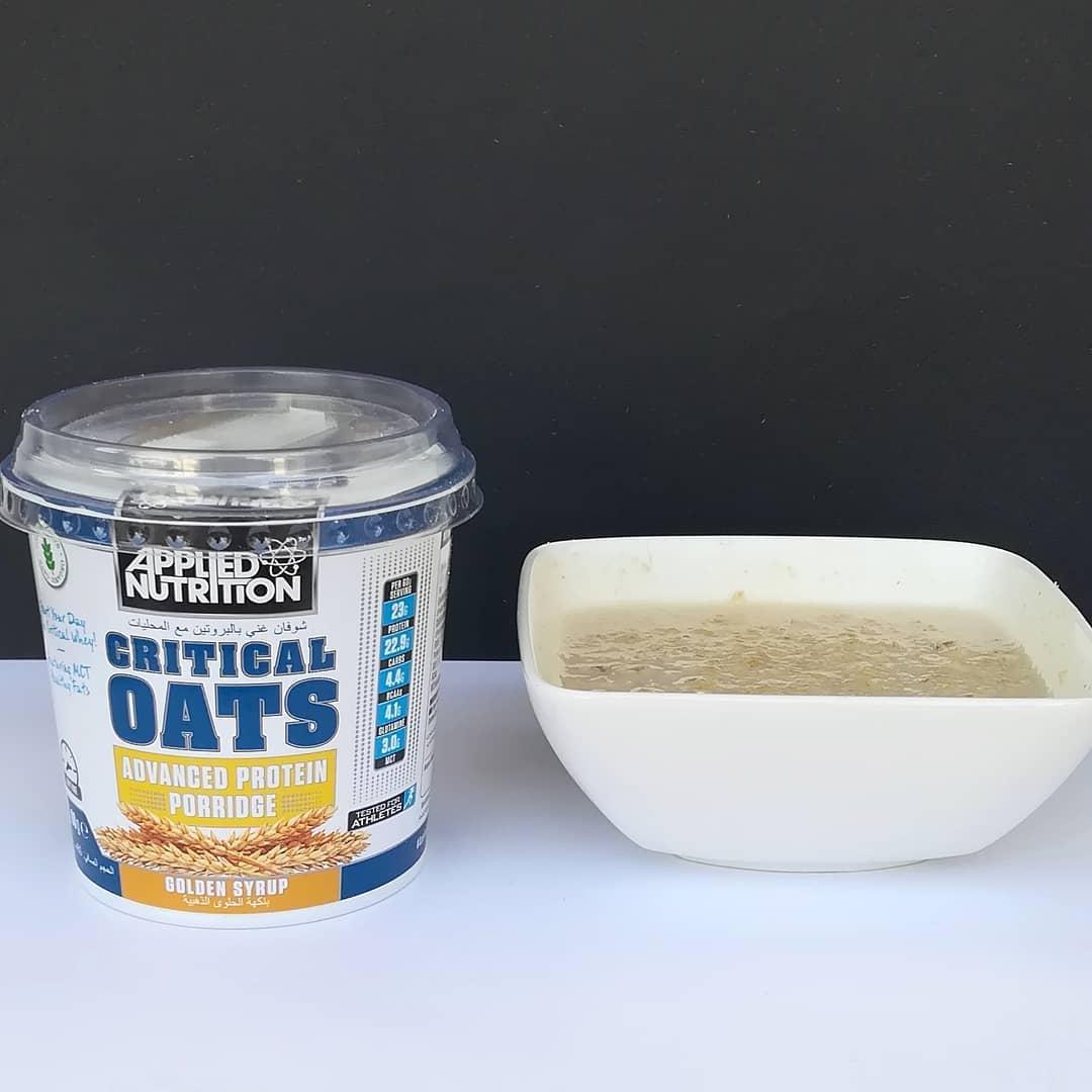 Applied Nutrition Critical Oats Golden Syrup – amerykańska fit owsianka!