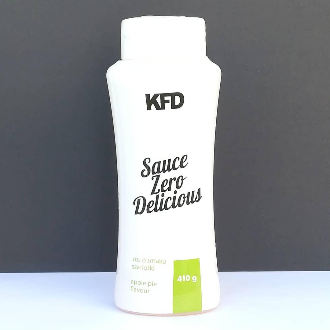 KFD Sauce Zero Apple Pie – recenzja sosu szarlotkowego!