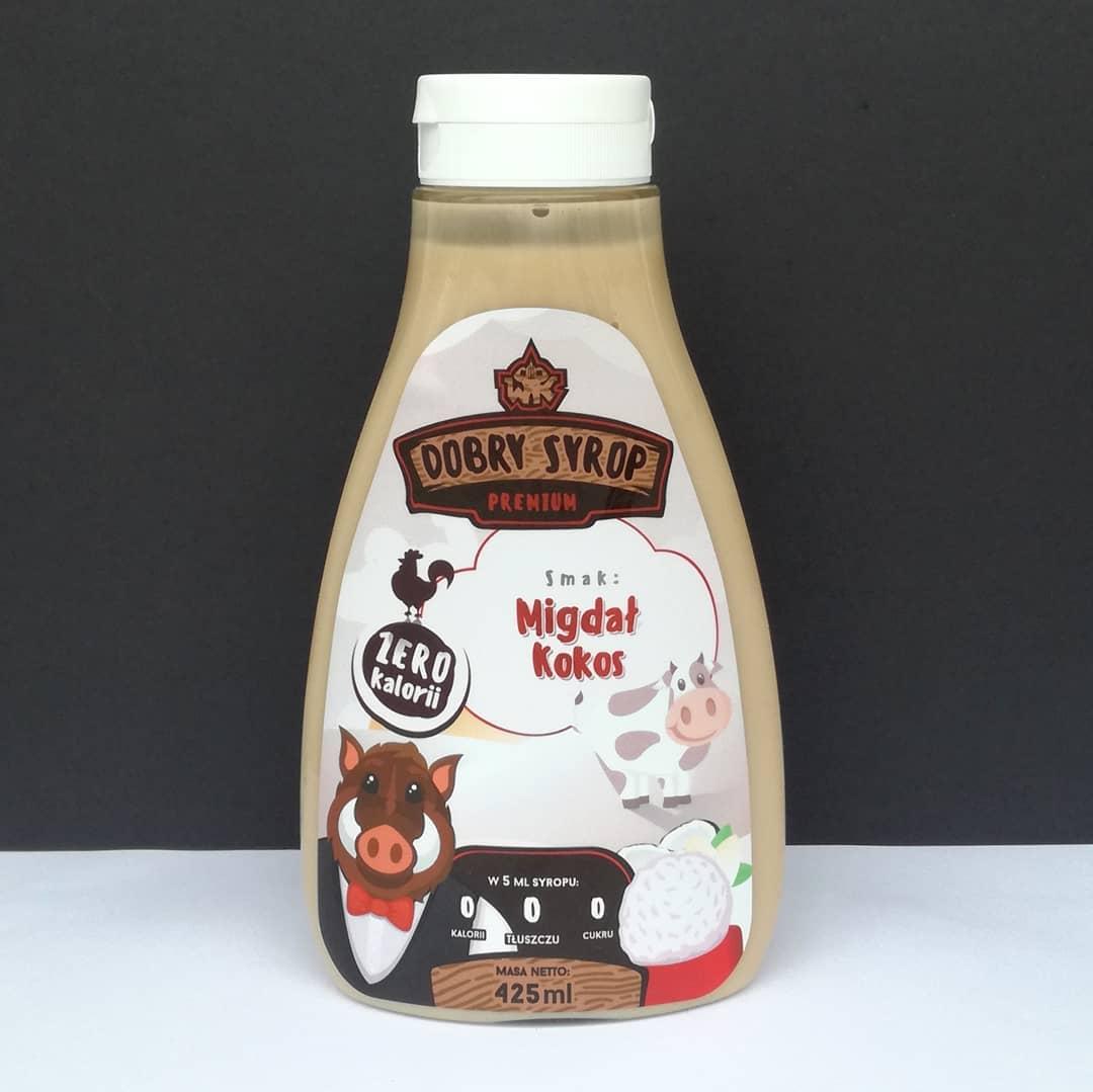 WK Nutrition Dobry Syrop Migdał Kokos – smak Raffaello?