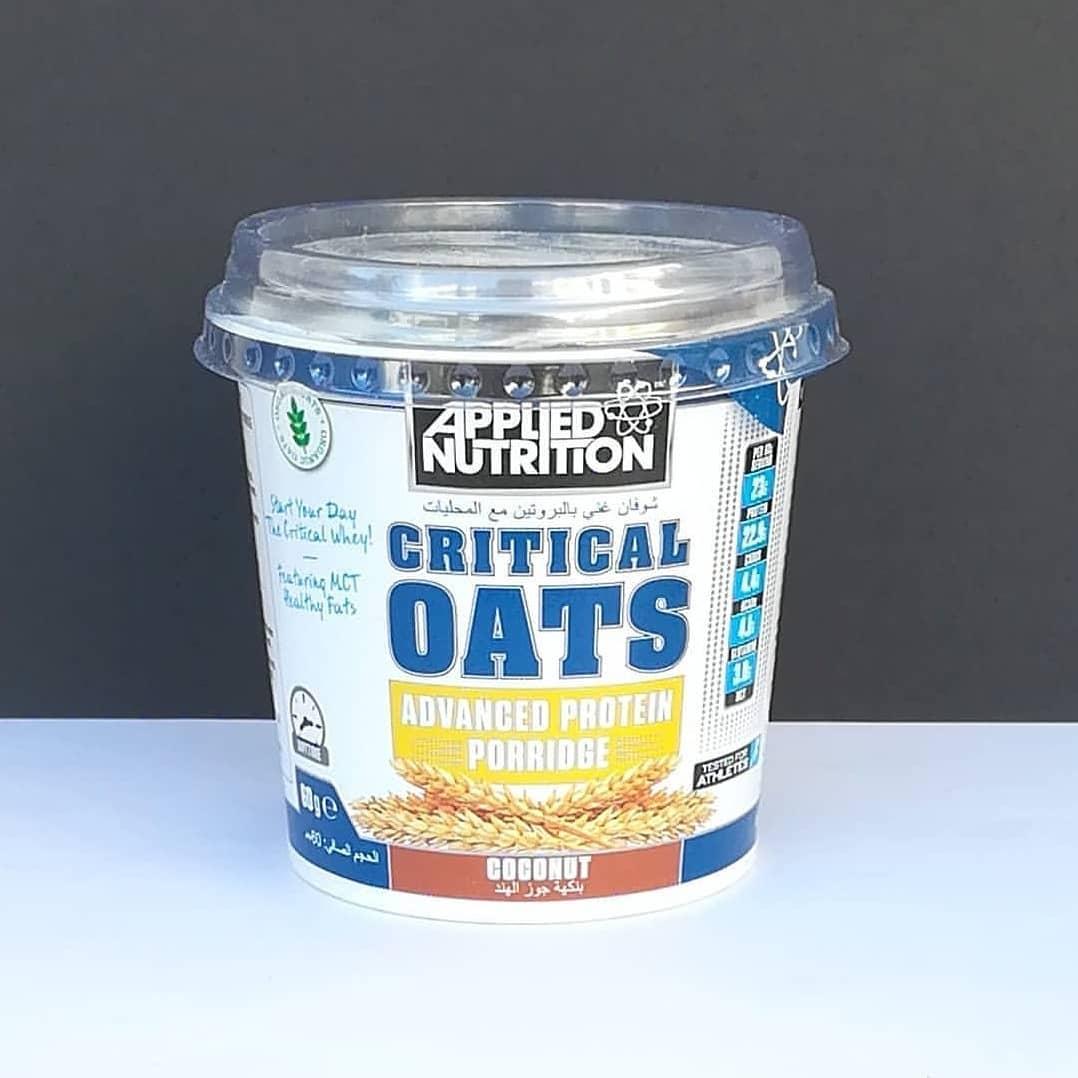 Applied Nutrition Critical Oats Coconut – kokosowa fit owsianka!