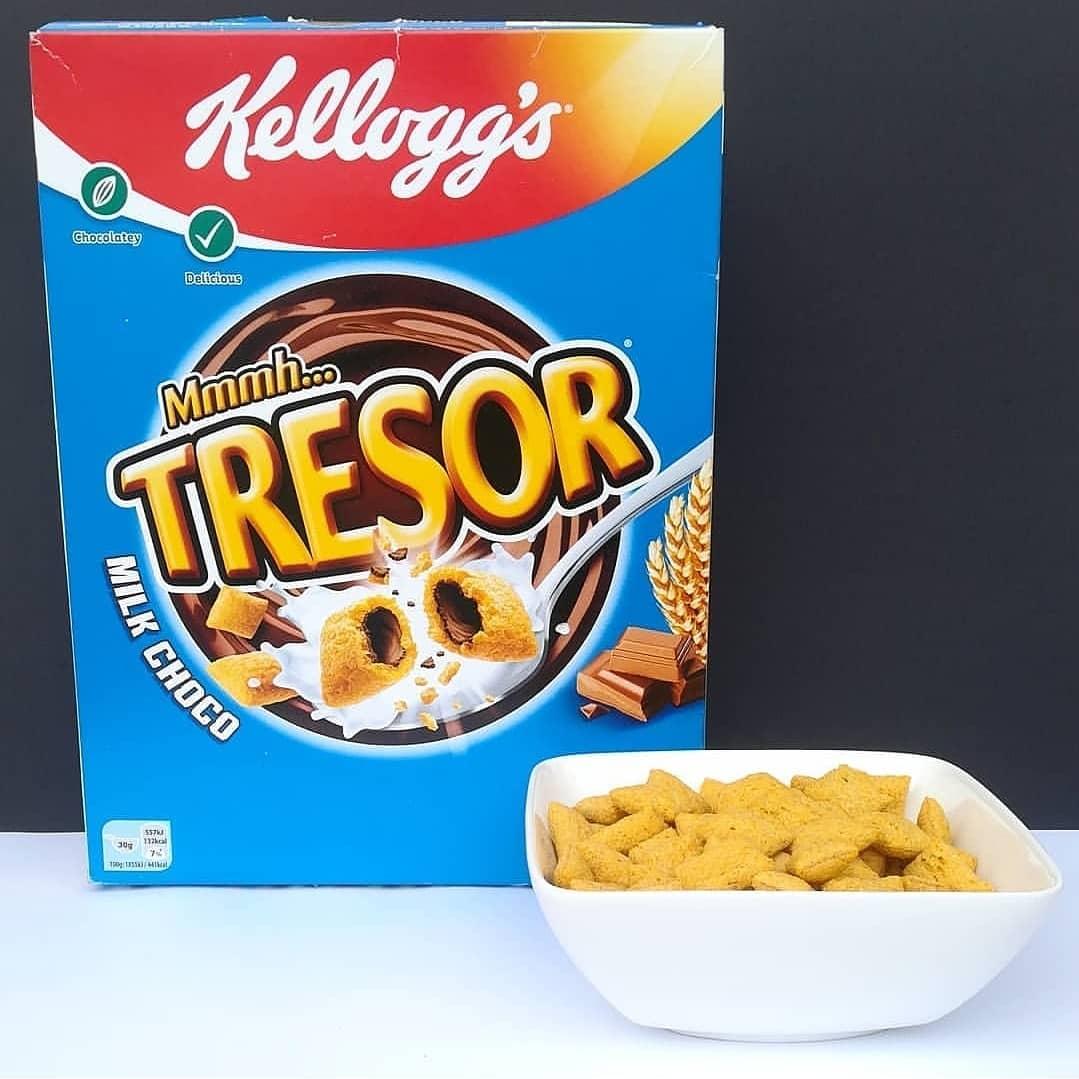 Kellogg's Tresor Milk Choco – test amerykańskich płatków!