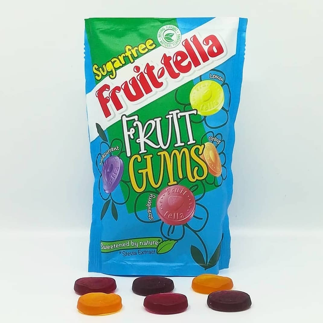 Fruitella Fruit Gums Sugar Free – gumy bez cukru!
