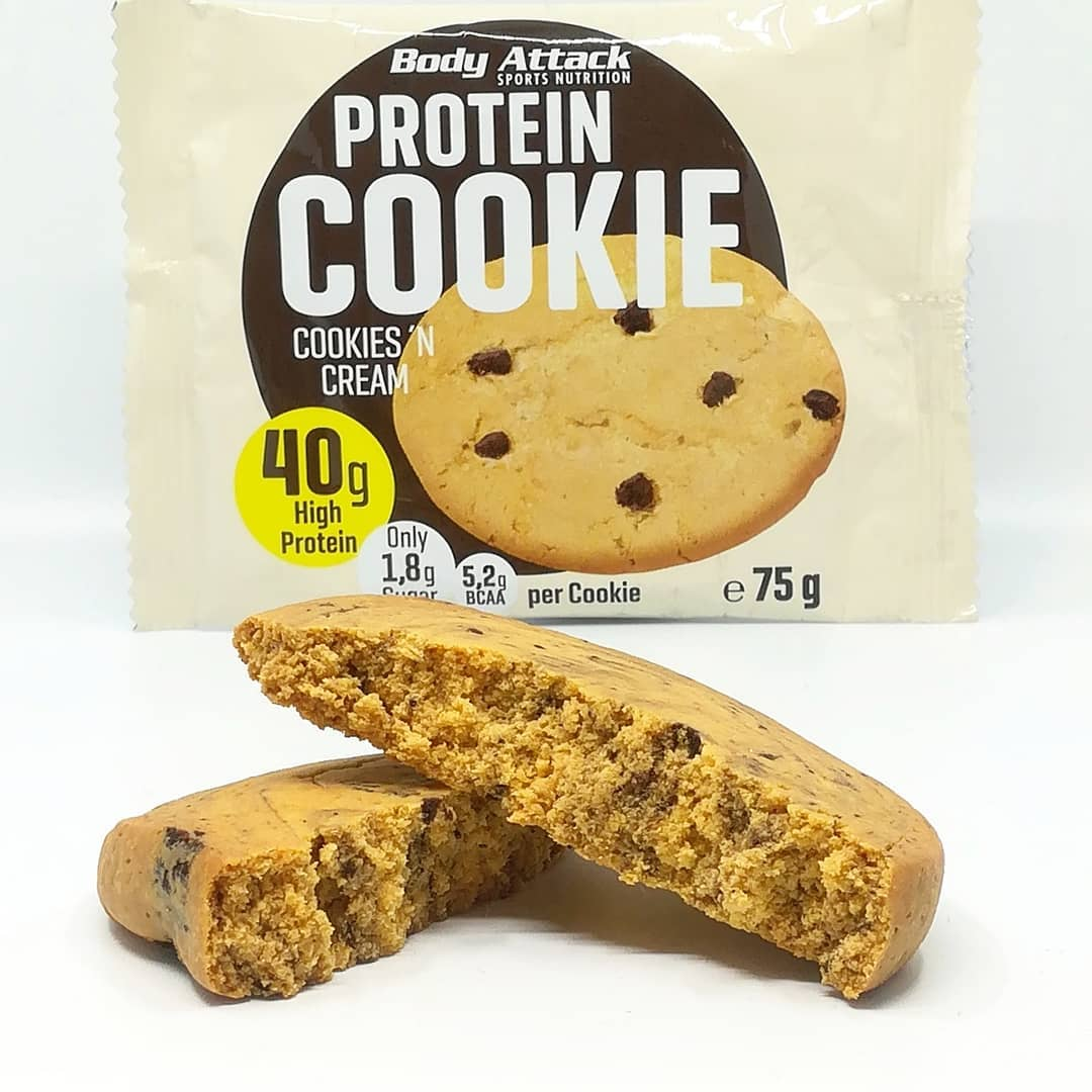 Body Attack Protein Cookie – cookies and cream