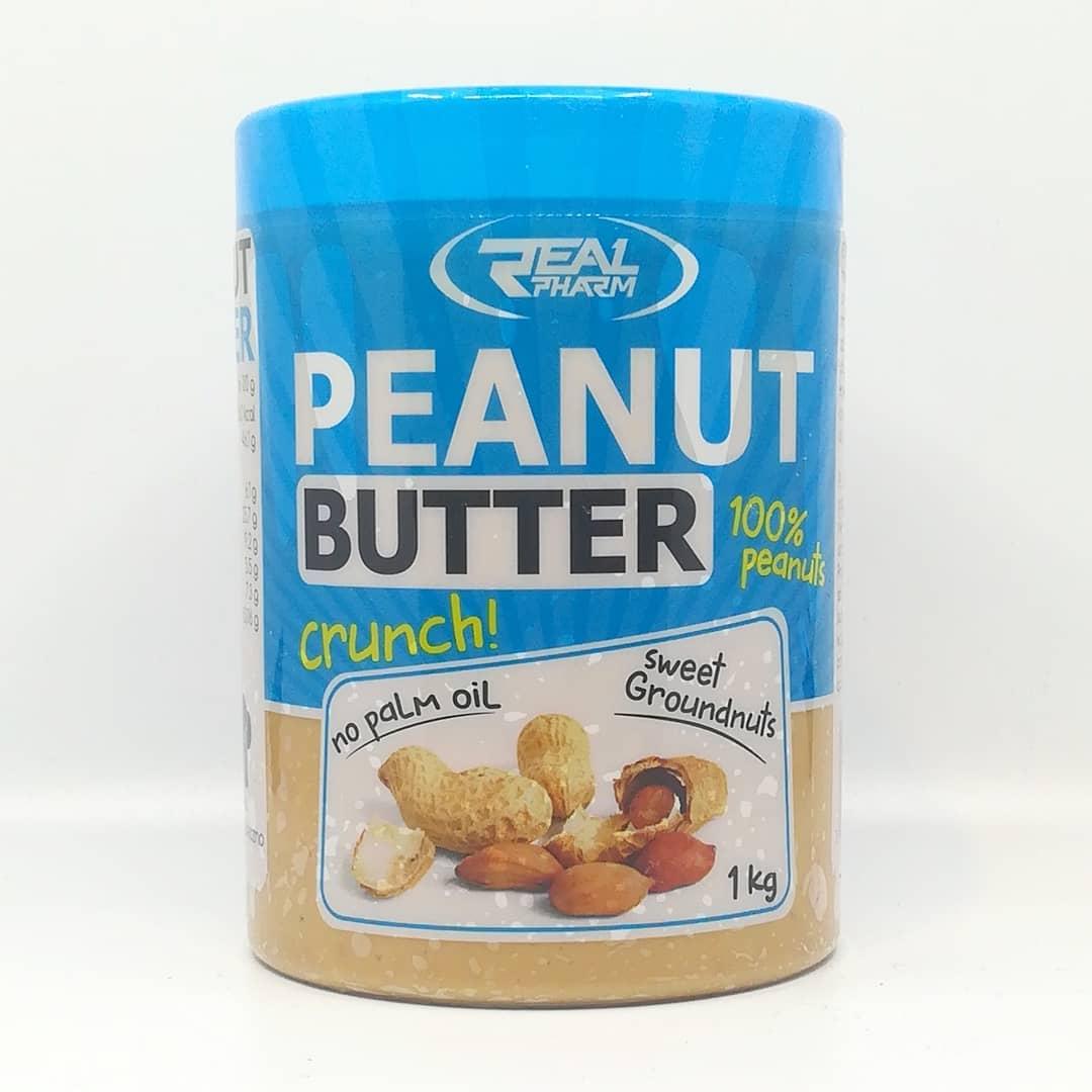 Real Pharm Peanut Butter Crunch – masło orzechowe 100%
