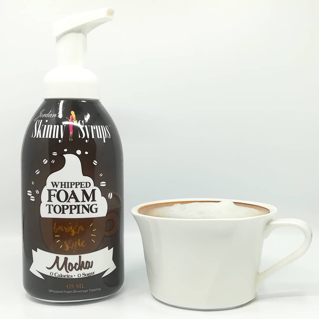Skinny Syrup Whipped Foam Topping – smak Mocha!