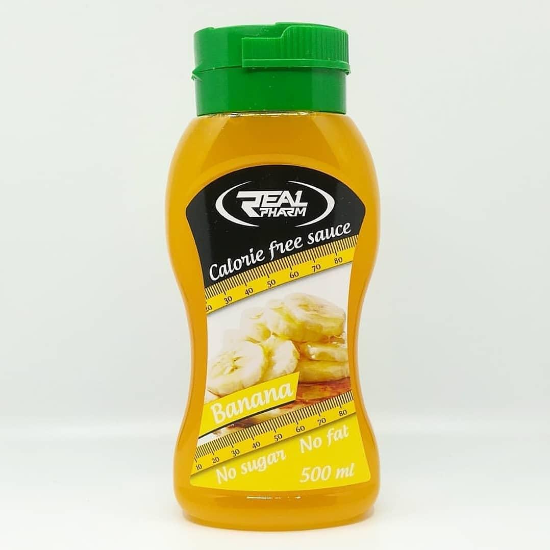 Real Pharm Calorie Free Sauce Banana – recenzja syropu!