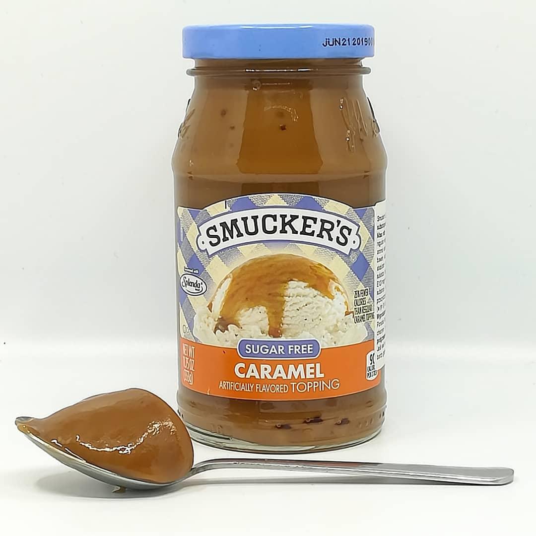 Smucker's Topping Sugar Free – smak caramel!