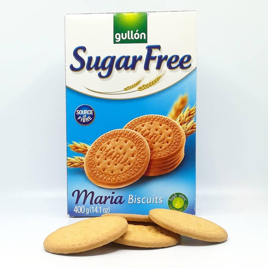 Gullon Sugar Free Maria Biscuits – bezcukrowe magdalenki!