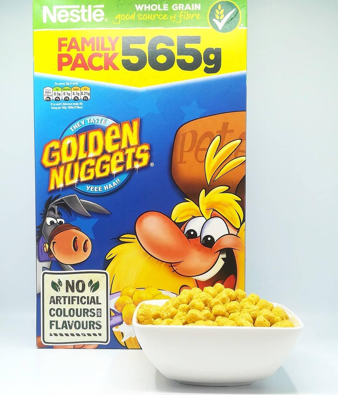 Nestle Golden Nuggets Cereals – recenzja płatków z Dealz!