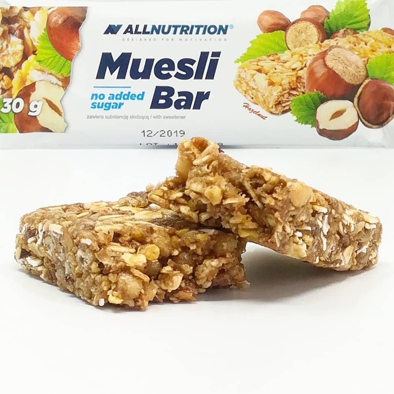 All Nutrition Muesli Bar – smak orzechowy!