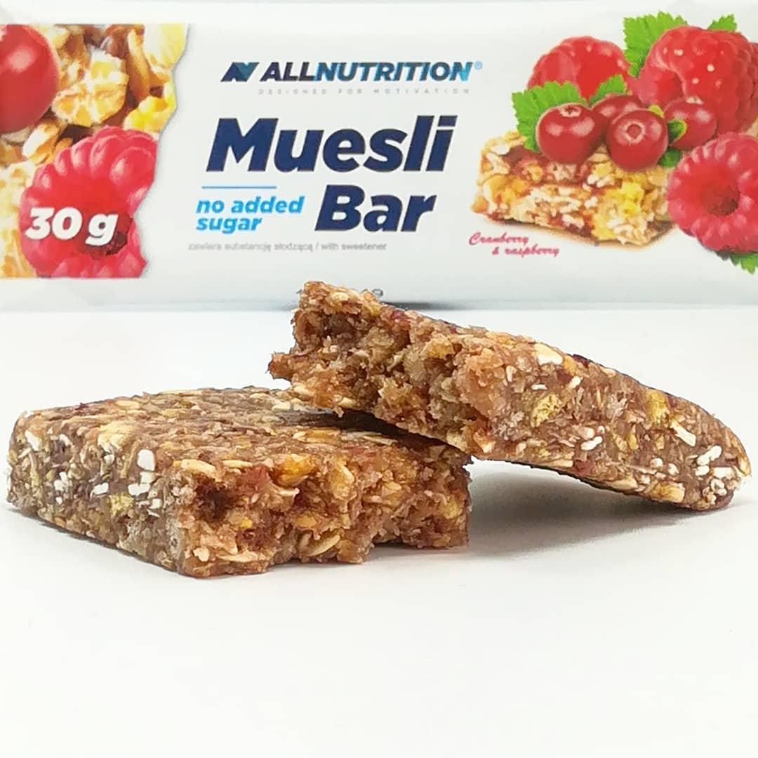 All Nutrition Muesli Bar – mix żurawiny z maliną!