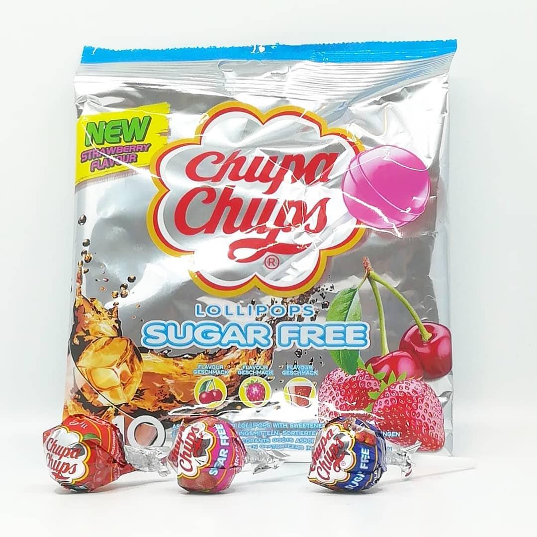 Chups Chups Sugar Free Lollipops – test lizaków bez cukru