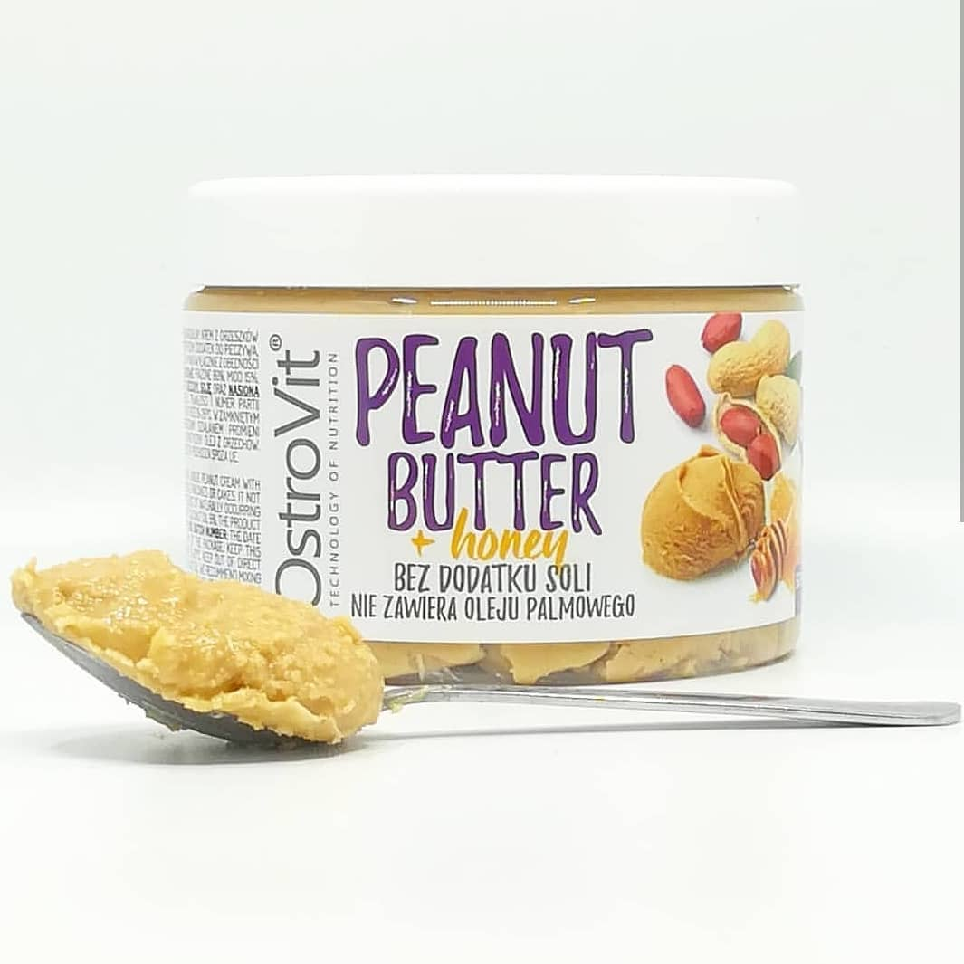 Ostrovit Peanut Butter + Honey – warto spróbować?