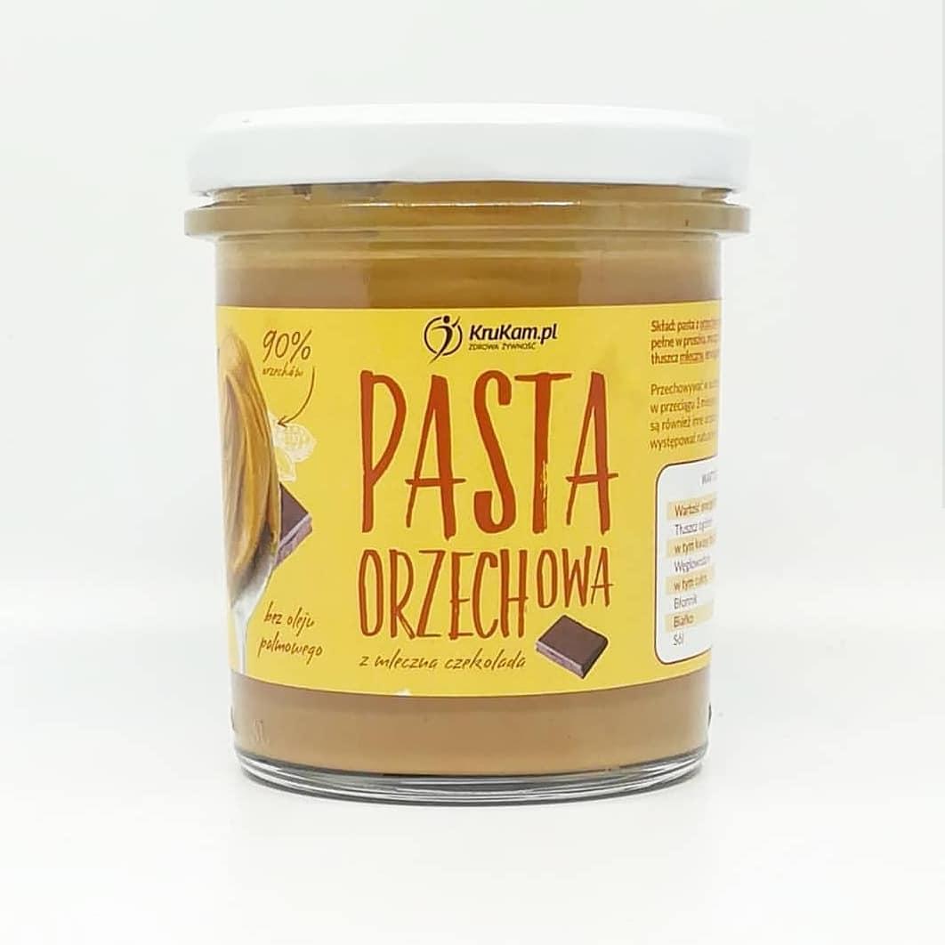 Krukam Pasta Orzechowa z Mleczną Czekoladą – moja recenzja!