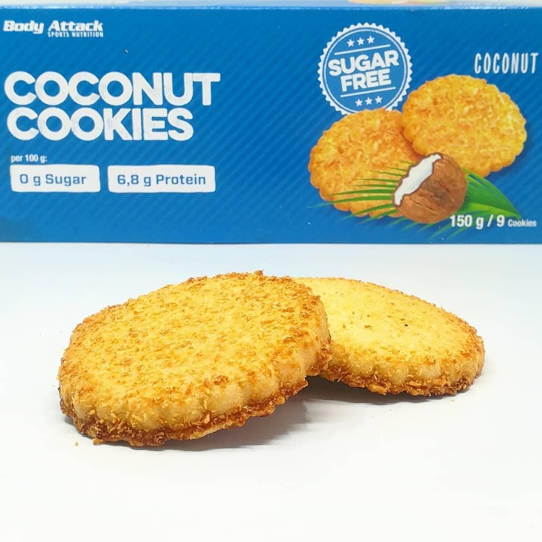 Body Attack Coconut Cookies – fit ciastka kokosowe!