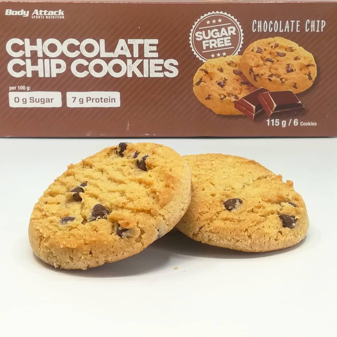 Body Attack Chocolate Chip Cookies – ciastka a'la Pieguski!