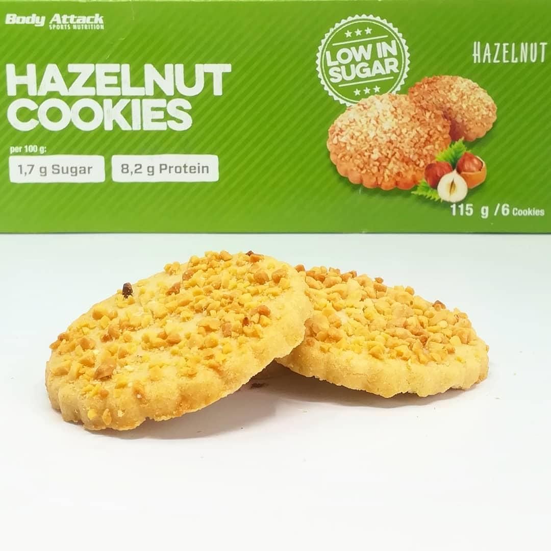 Body Attack Hazelnut Cookies – test ciastek bez cukru!