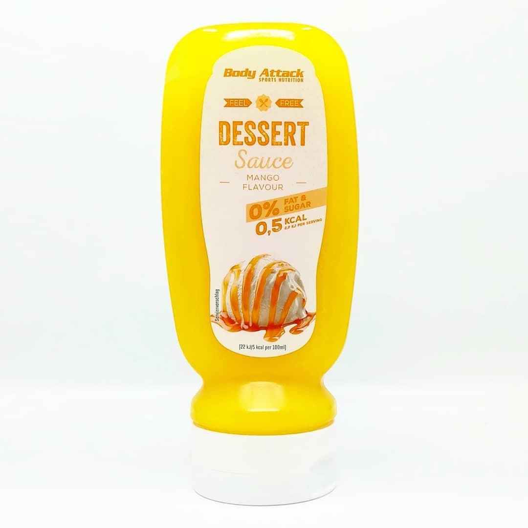 Body Attack Dessert Sauce Mango – niecodzienny smak!