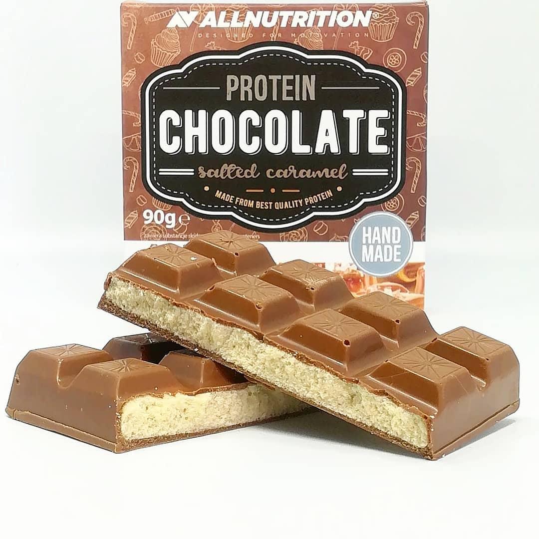 All Nutrition Protein Chocolate Salted Caramel – test czekolady białkowej!