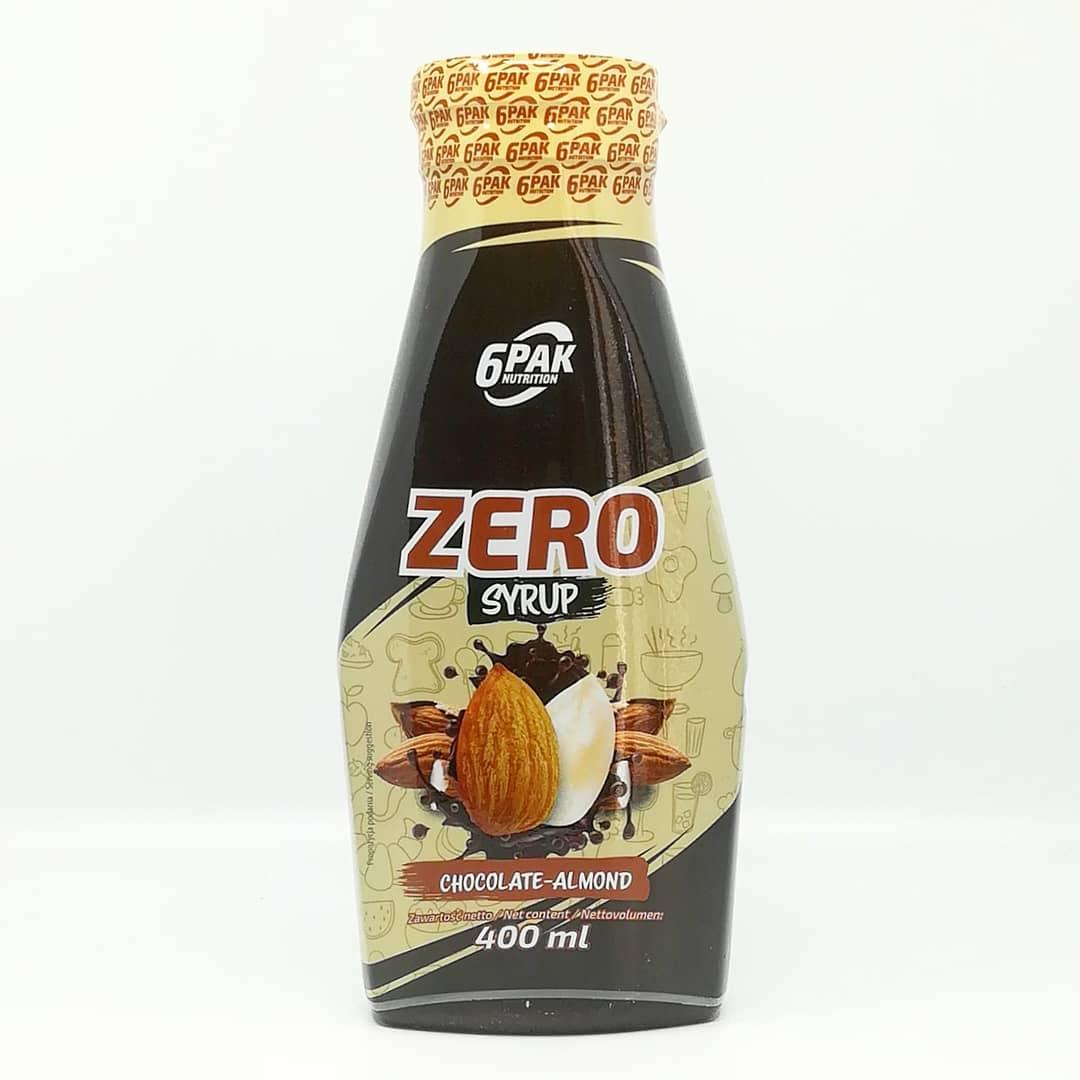 6PAK Nutrition Syrup Zero Chocolate Almond – zgrane połączenie!