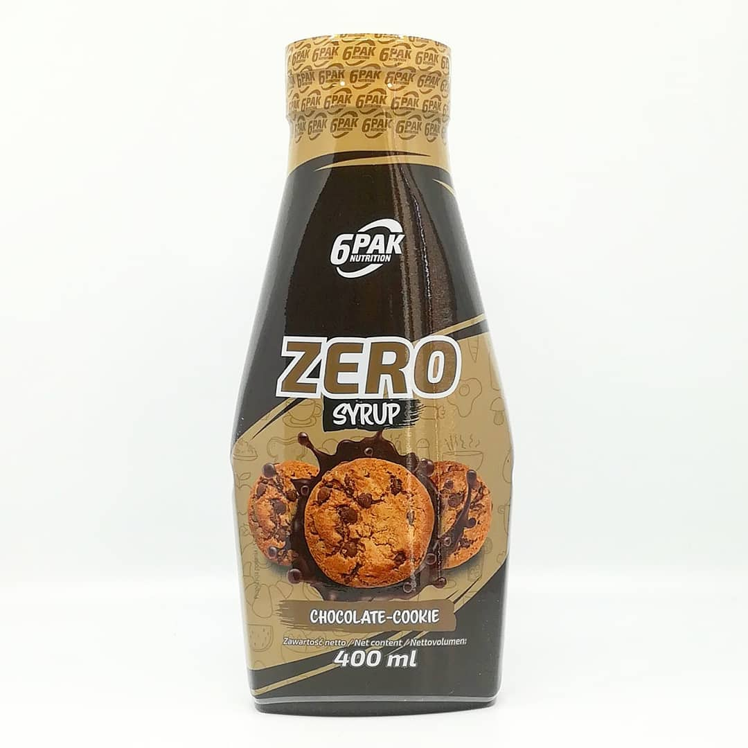 6PAK NUTRITION ZERO SYRUP CHOCOLATE-COOKIE
