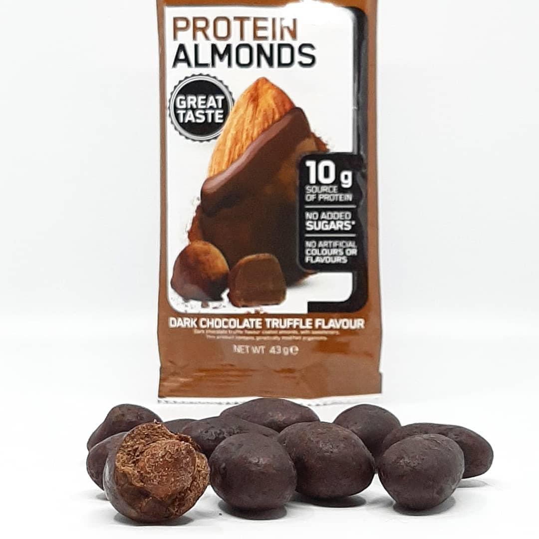 Optimum Nutrition Protein Almonds – dark chocolate truffle