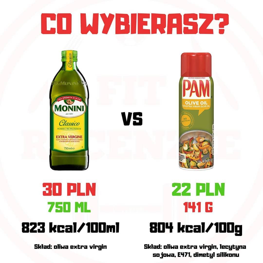 Świadomy wybór - oliwa vs spray