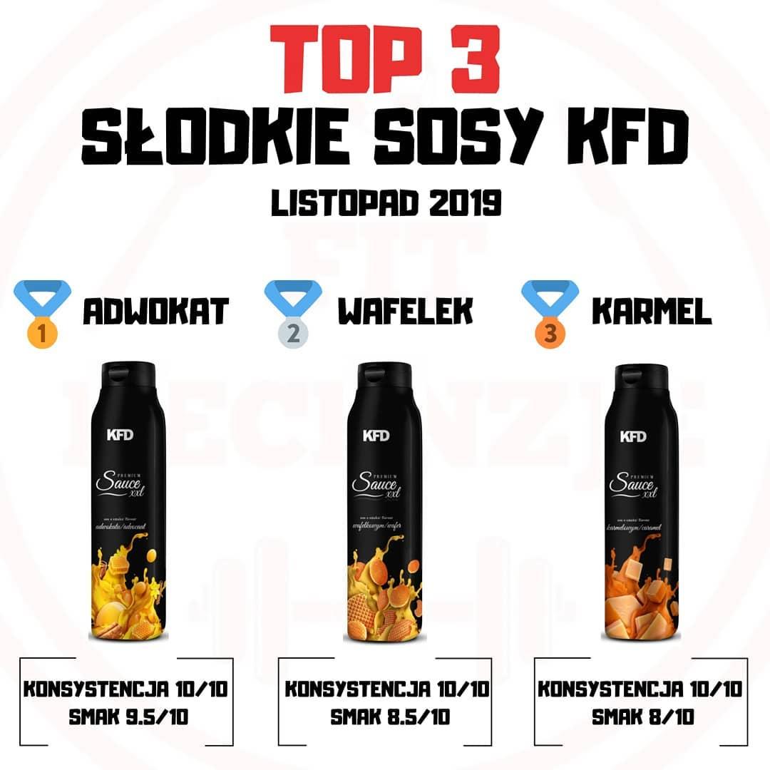 TOP3 SŁODKIE SOSY KFD