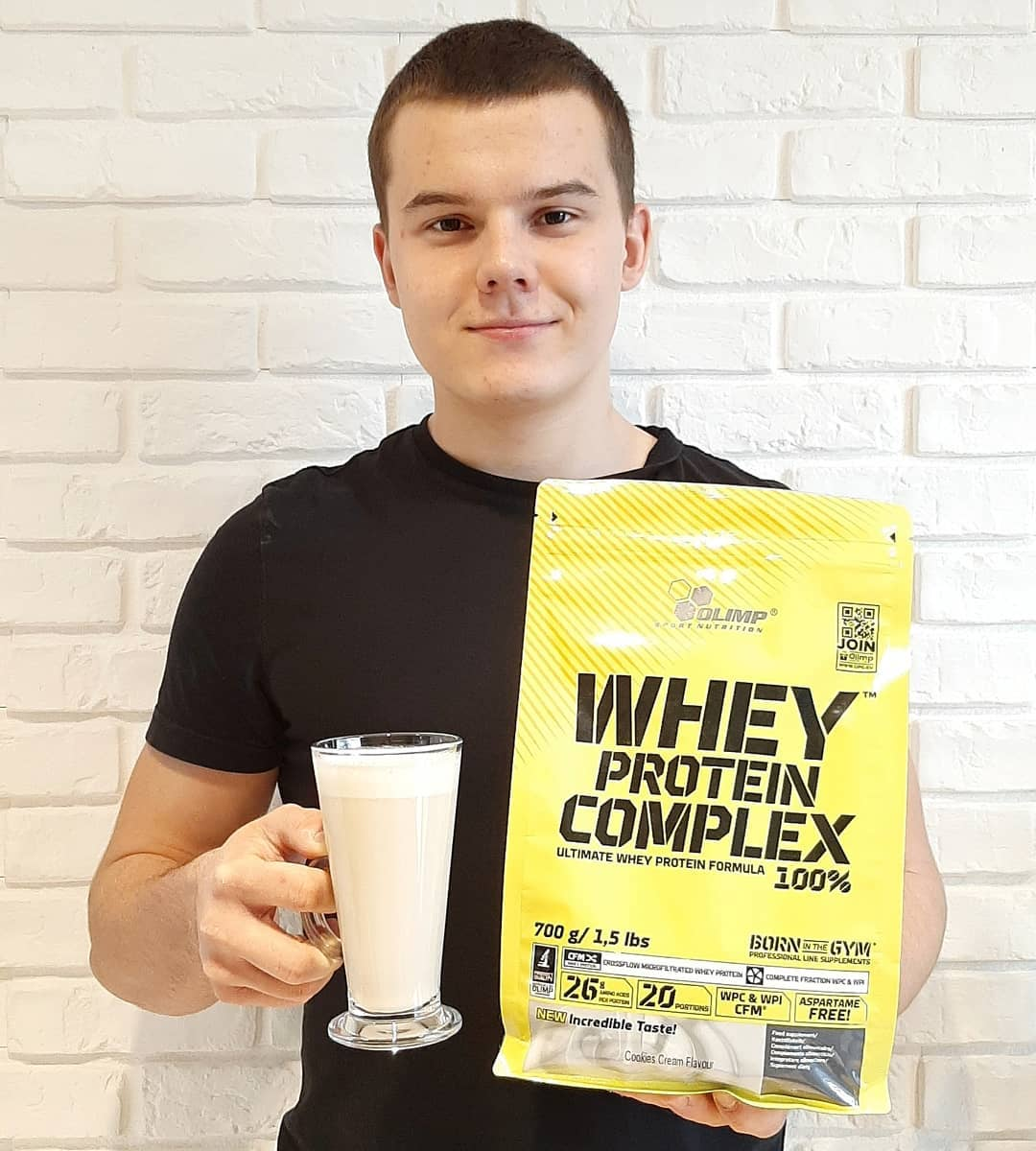 olimp whey cookies & cream