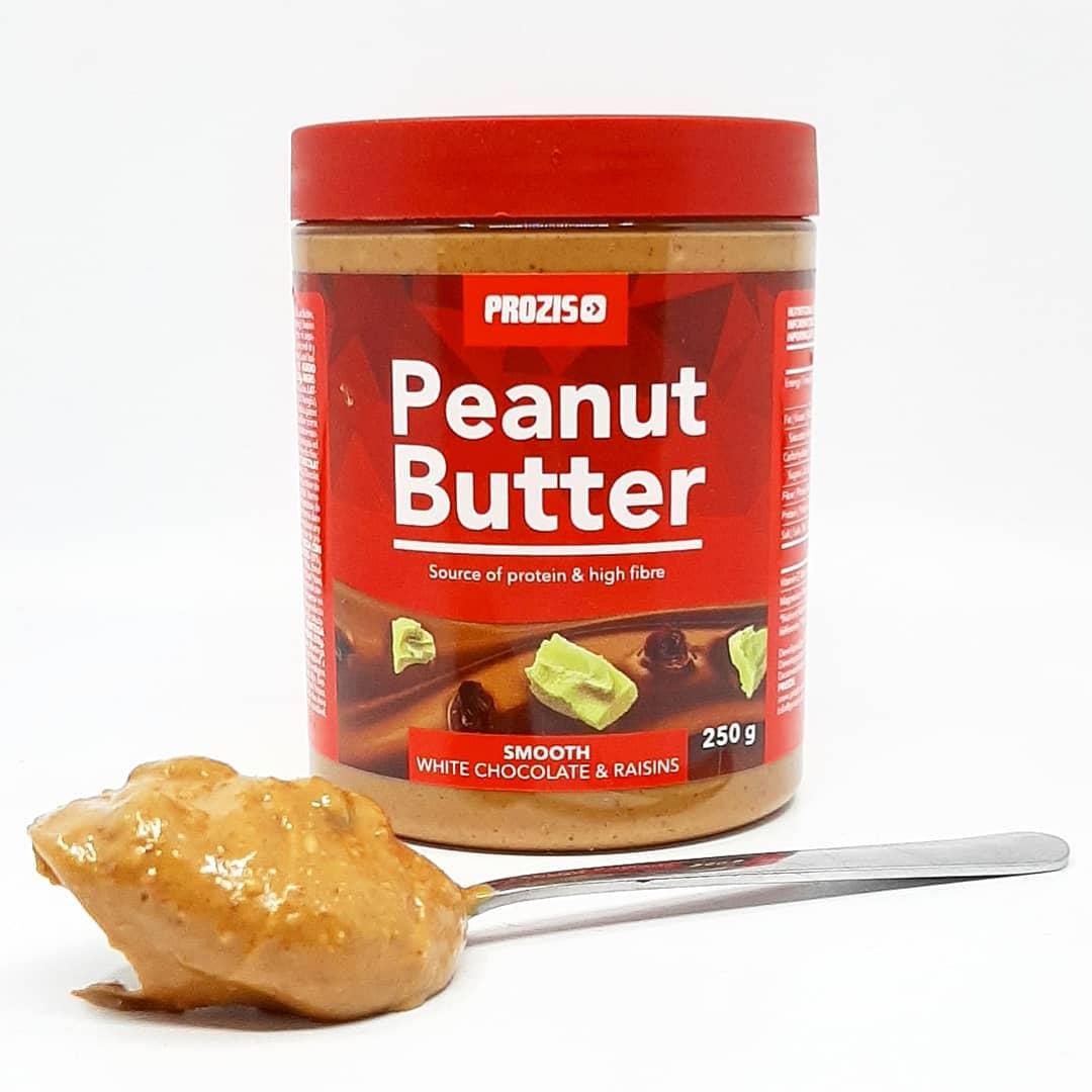 Prozis Peanut Butter White Chocolate Raisins – moja recenzja!