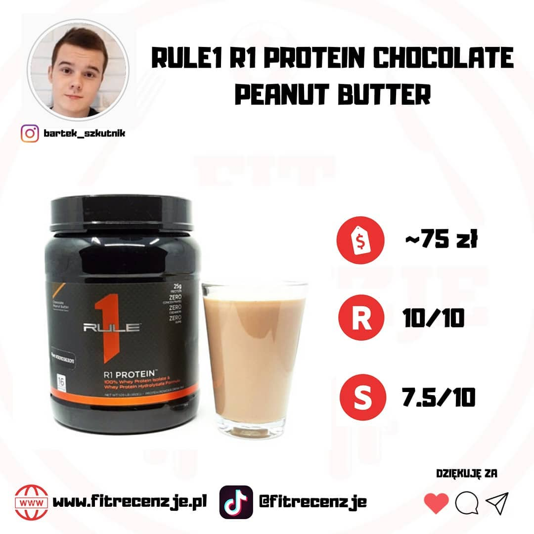 RULE1 R1 PROTEIN CHOCOLATE PEANUT BUTTER