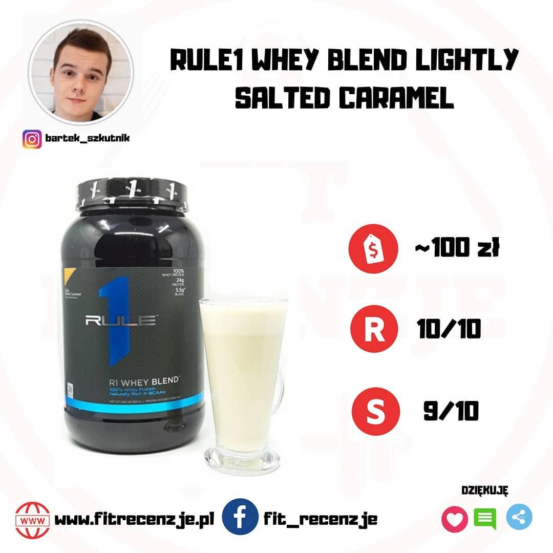 RULE1 WHEY BLEND LIGHTLY SALTED CARAMEL