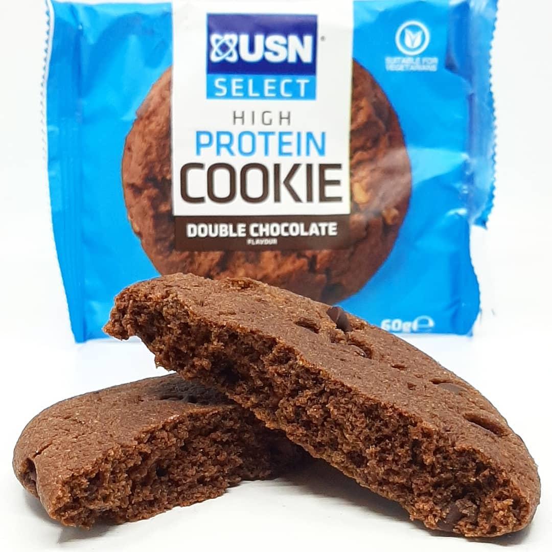 USN Select Cookie Double Chocolate – jak kakaowe muffinki!