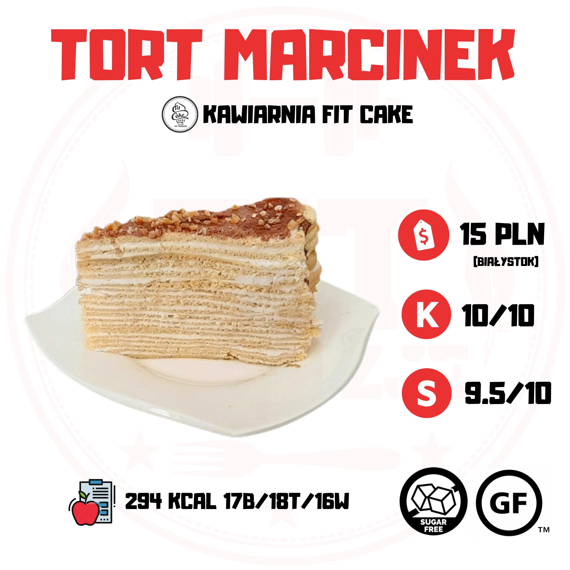 Fit Cake Tort Marcinek – podlaski deser