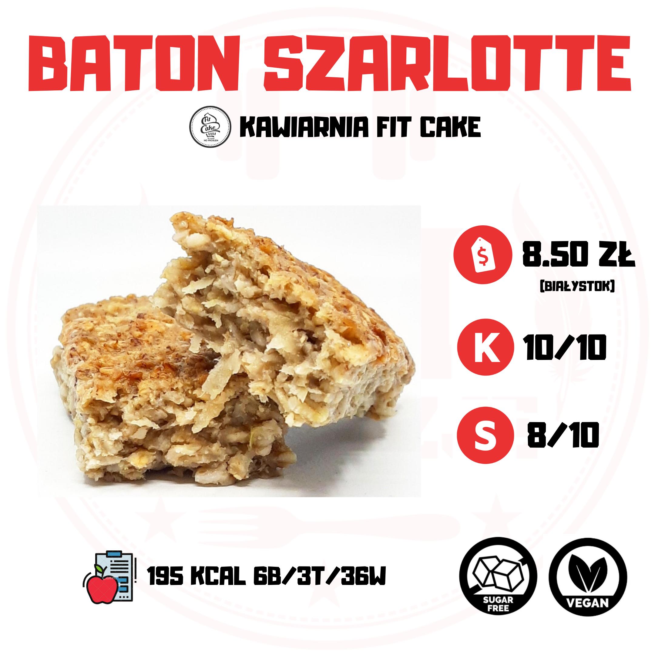FIT CAKE BATON SZARLOTTE – lepszy od oryginału?