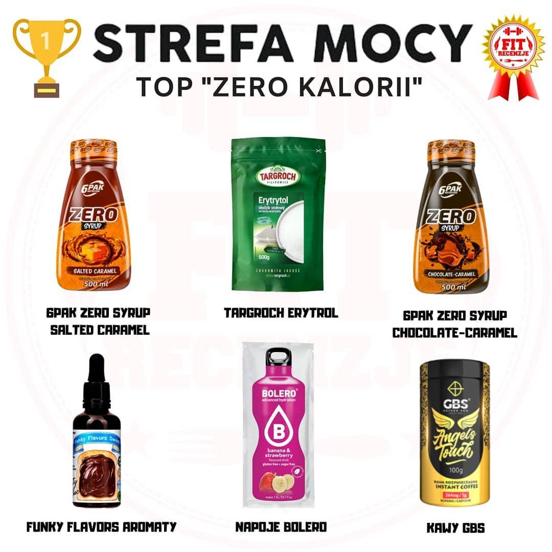 Najlepsze produkty zero kalorii – Strefa Mocy