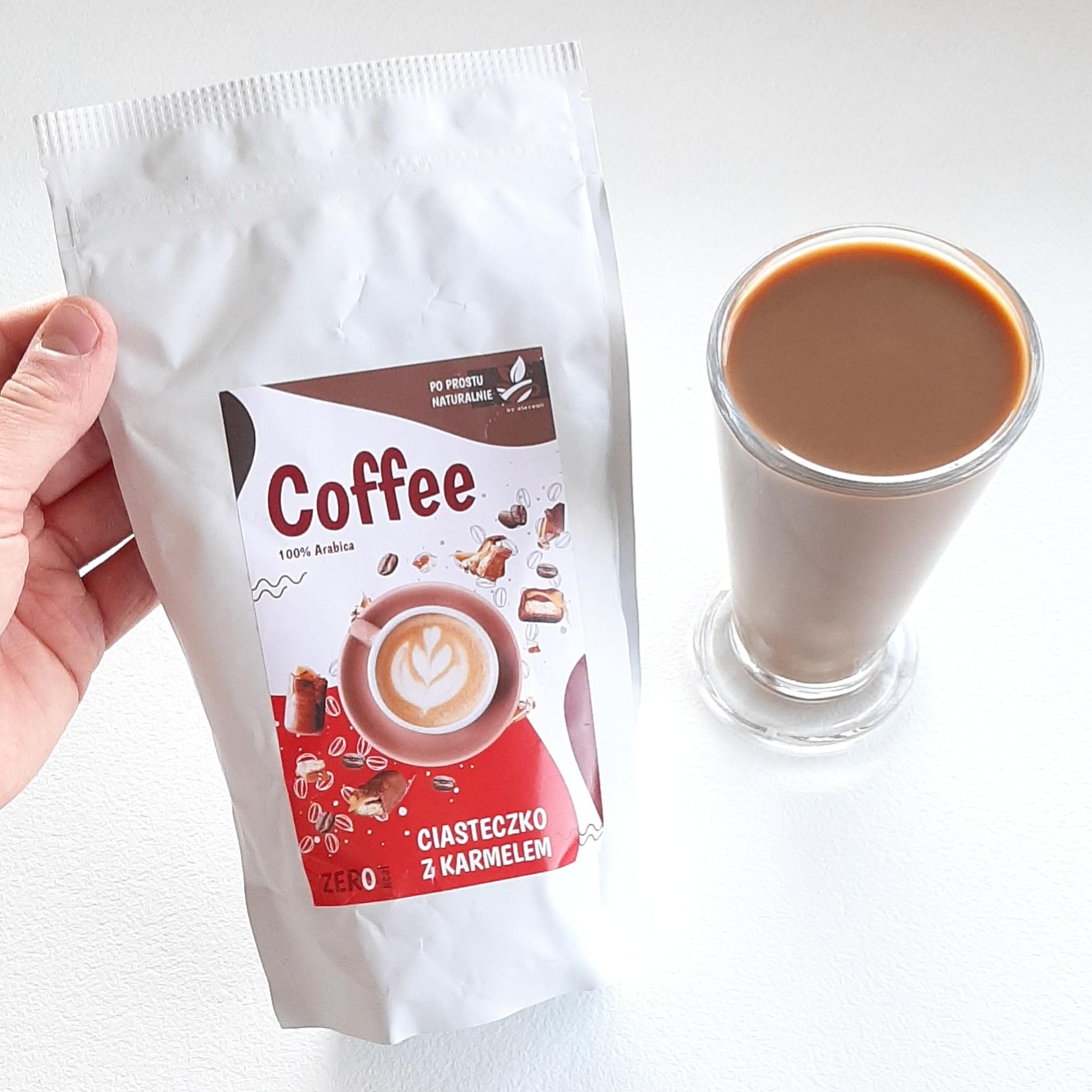 Kawa ciasteczko z karmelem – Po Prostu Naturalnie