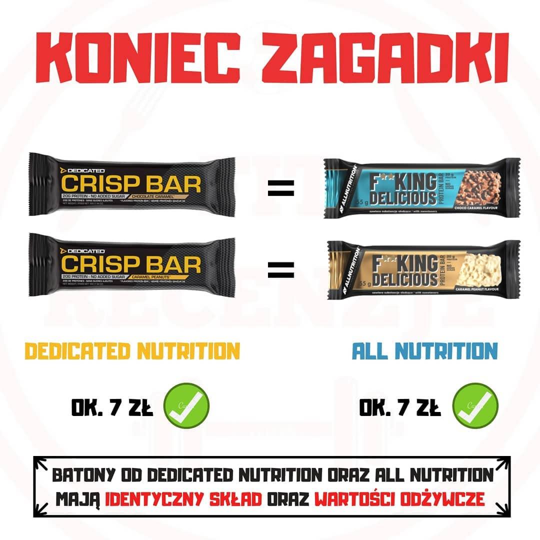 Koniec zagadki – Crisp Bar vs F**king Delicious